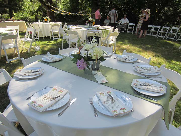 Catering Food Table Set Up Images