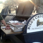 Barbeque to Servers to Table ~ Bill's Chuckwagon Catering